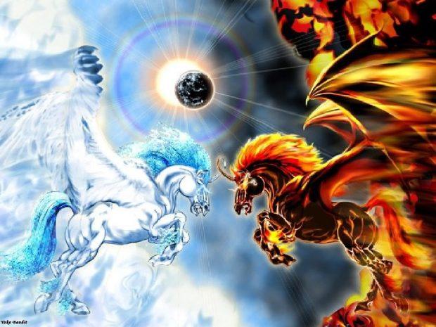 Битва между Светом и тьмой