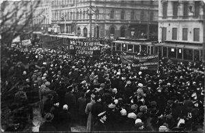 Демонстрации в Петербурге
