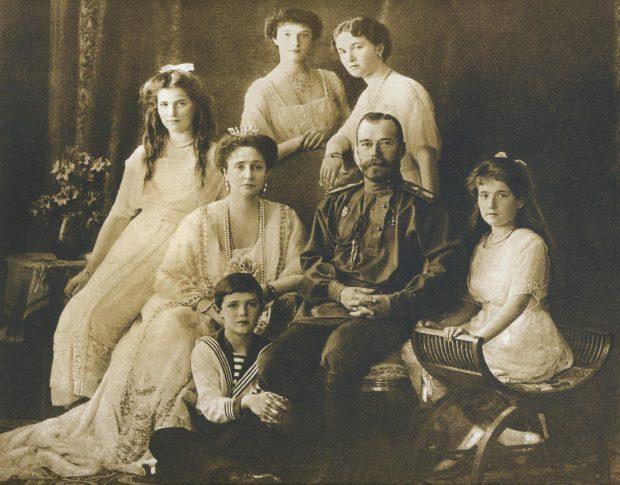 Взгляд на новую историю России | Царская семья