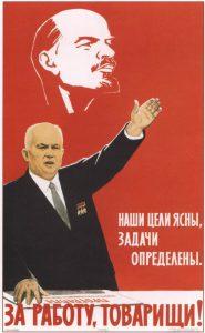 Взгляд на новую историю России | Советские лозунги