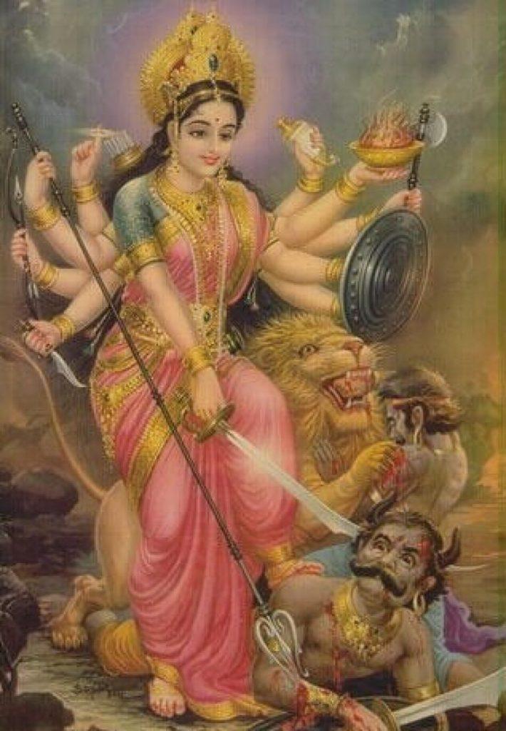 Рисунок 3.2. Богиня Кали