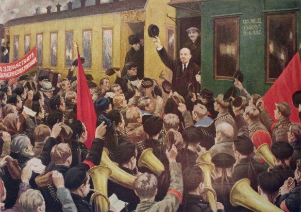 Возвращение Ленина в Москву